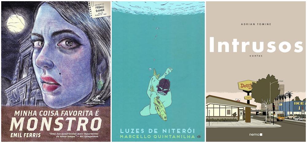 – Prêmio Grampo de Grandes HQ – Entrevistas com os autores e matérias sobre as obras vencedoras 2016/2020