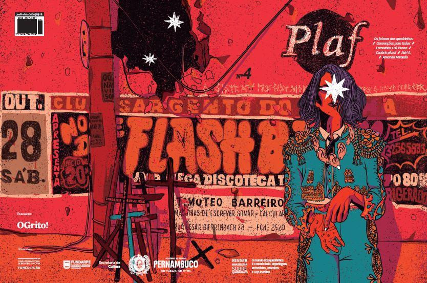 """Papo com Paulo Floro, coeditor da revista Plaf: """"Queremos fortalecer cada vez mais a rede de lojas especializadas e espaços que vendem e fomentam a produção de quadrinhos autorais brasileiros"""""""