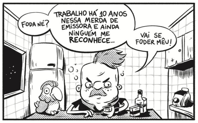 """Papo com Panhoca, editor da revista Pé-de-Cabra: """"A televisão nos permite sair da nossa bolha e ter contato com o Brasil de verdade"""""""