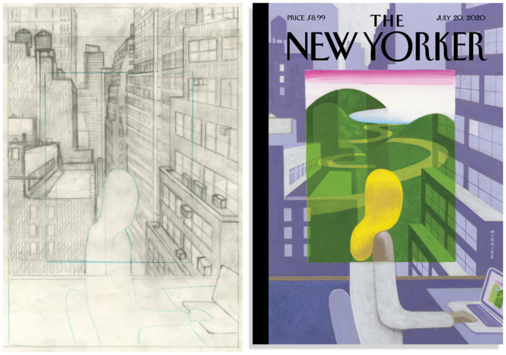 New Yorker, por Richard McGuire