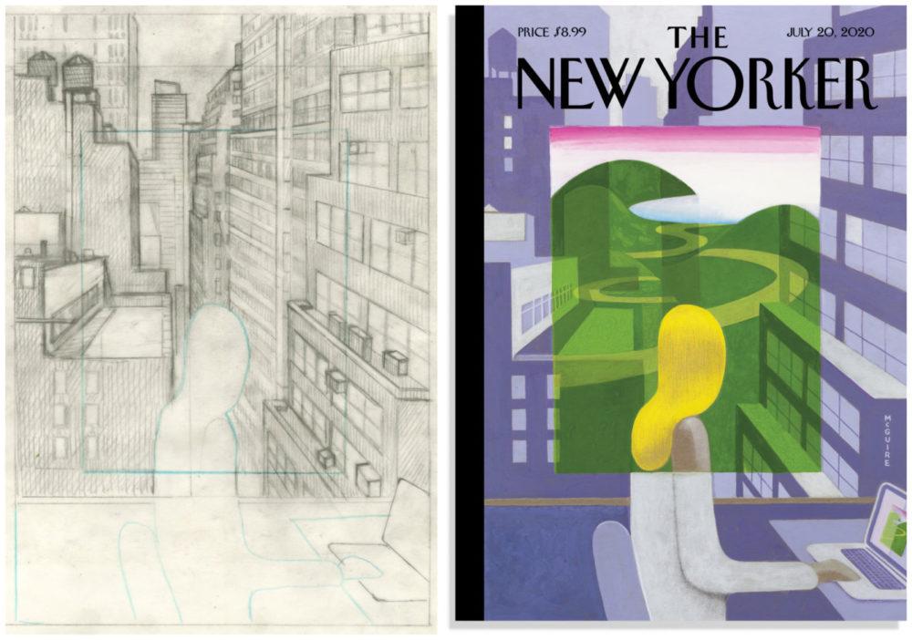 New Yorker, por Richard McGuire