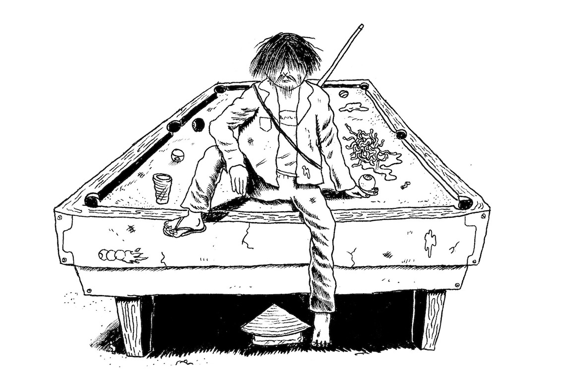 "Papo com Victor Bello, autor de Sinuca Paranoide – As Tacadas do Bambino: ""Acho que nunca conseguiria criar personagens sérios"""