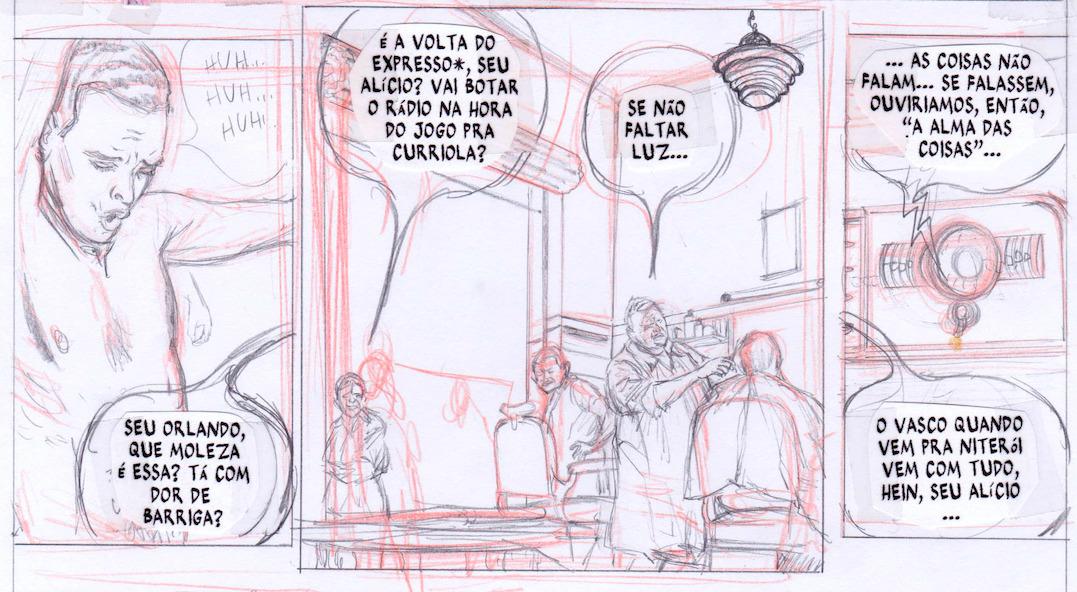 Marcello Quintanilha e a criação de uma página de Luzes de Niterói