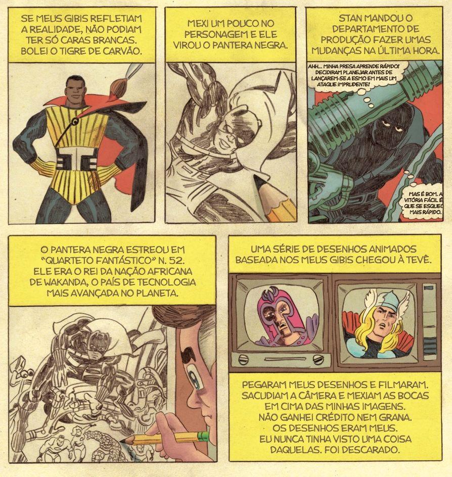 """Papo com Tom Scioli, autor de Jack Kirby – A Épica Biografia do Rei dos Quadrinhos: """"Todo o estilo narrativo das HQs de super-heróis ainda segue o modelo de Kirby"""""""