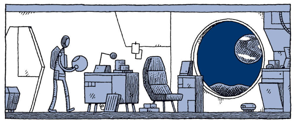Tom Gauld fala sobre Guarda Lunar