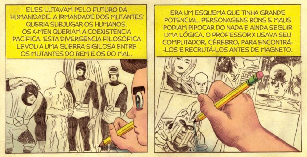 Sarjeta #17: Tom Scioli, Jack Kirby e a biografia do Rei dos Quadrinhos