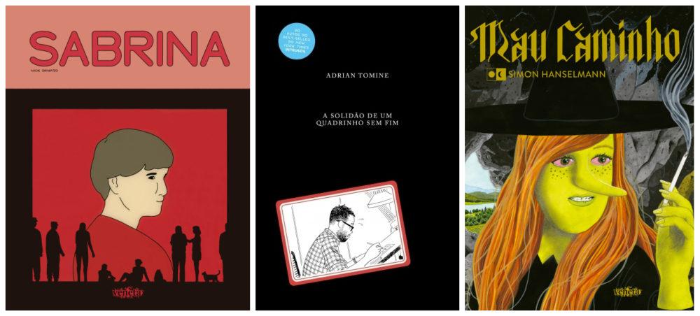– Prêmio Grampo de Grandes HQ – Entrevistas com os autores e matérias sobre as obras vencedoras em 2021