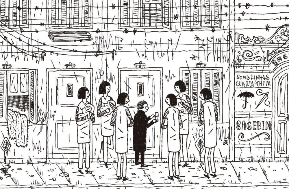 Rafael Sica, Paulo Scott e o espetáculo visual de Meu Mundo Versus Marta