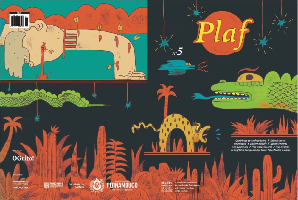 """Papo com Paulo Floro, coeditor da revista Plaf: """"Existe um desejo legítimo de editores e público de fortalecer a relação entre os quadrinhos latino-americanos"""""""