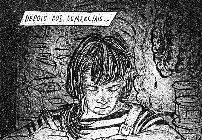 """Papo com Amanda Miranda, autora de Aparição (Ugrito #24): """"O que mais impactou o roteiro foi o sentimento angustiante de, praticamente todos os dias, ouvir algum caso de feminicídio"""""""
