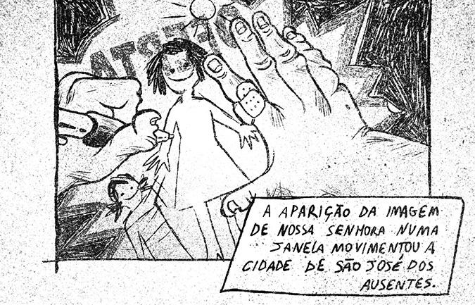 Sarjeta #20: Três Ugritos e o terror de Amanda Miranda